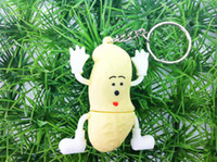 Wholesale Hot sale food Peanuts USB flash drive in fashion model GB USB drive flash memory