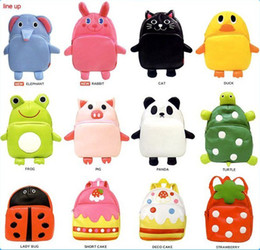 5pcs lot Cartoon Animal backpack Children's school bags Kid's lunch bags Children's products