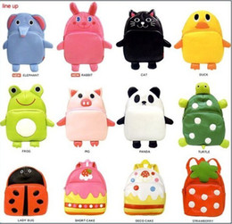 1pcs lot Cartoon Animal backpack Children's school bags Kid's lunch bags Children's products