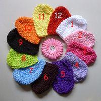 Crochet kufi crochet hat cap - newborn baby CROCHET waffle BEANIE kufi HAT cap GIRLS BOY new colors U pick