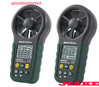 air flow anemometer - vane anemometer MS6252A an anemometer With wind speed air flow