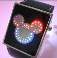 Wholesale cheap LED sport digital jelly candy mens Watches square Binary children wristwatches women best gift