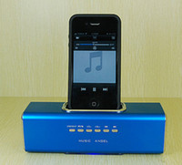 Wholesale Hot sale Music angel mini speaker UK3 docking station USB speaker for mp3 u disk ipods phone