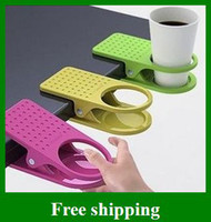 Wholesale Popular Table Glass Cups Clip Drinklip Cup Holder Space Saving Holder Convenient