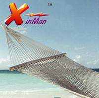 Cotten hammock stand - XINMAN Cotton Meshy thicker cm Single stands hammock Outdoor Furniture tourism Camping Leisure