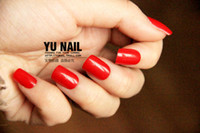 Wholesale Retail Fashion hot sale Red false nails for bride Fake artificial Nail extensions tips