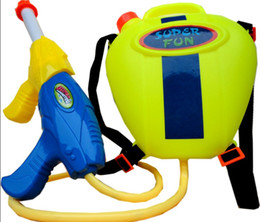 Wholesale Kids Children Toddler Summer Giant Super Soaker Plastic Power Large Pump Fun Squirt Games Water Gun Toy with Tank Backpack