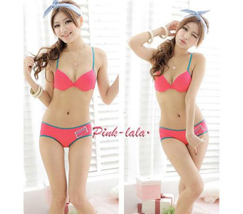 Sexy Back Design Bra Set Fashionable Bra Panty Sets Girls Sexy ...
