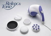 Wholesale Electric Handheld Massager Relax Spin amp Tone Body Massager Fat Remove Slim Machine