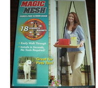 Wholesale New Magic Mesh Hands Free Screen Door Magnetic Anti Mosquito Bug Great For Pets FREE Shippi