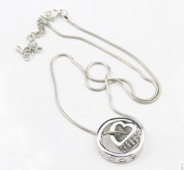 Wholesale Stock Price For Long Term Partnership Most Popular Noble Ring And Heart Together Crystal Necklace