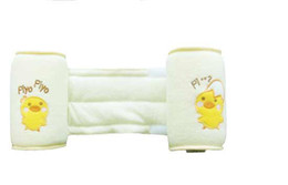 Wholesale New Baby Anti Roll Pillow Sleep Positioner Pale Yellow