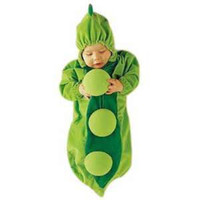 baby pods - Baby Sleeping Bag Grean PEA IN A POD boys girls facy dress costume