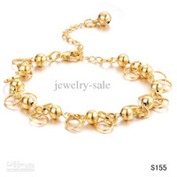 allergy bracelet - discount new arrival fine bridal jewelry K gold plate allergy free never fade chain bracelet