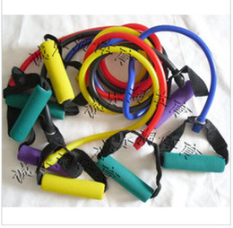 Wholesale HOT SALE The word yoga rope pull rope body building chest expander FREESHIPPING