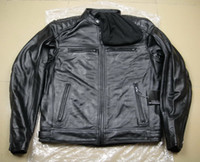 Wholesale men s corona genuine Leather Jacket VM