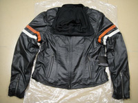 Wholesale women s miss enthusiast cotton genuine Leather Jacket VW motorcycle jacket