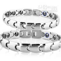 Wholesale Best Selling Magnetic Bracelets Energy Balance Healthy Bracelet stainless steel Couple Bangle TS3156