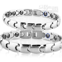 Wholesale Best Selling Magnetic Bracelets Energy Balance Healthy Bracelet stainless steel Couple Bangle TS3156