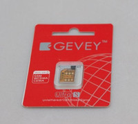 For Apple iPhone gevey 5.0 - Real F981 Chip GEVEY S unlocks CDMA and GSM For IOS with reset sim work fido