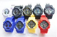 Wholesale 5pcs Men GA100 Sports Watches Waterproof wristwatches Luxury Watches Digital Watch color