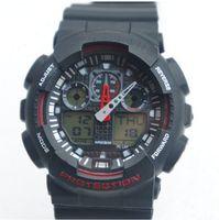 Digital Rubber  5 pcs lot Men GA 100 Sports Watches 2015 Waterproof Wristwatches Luxury Digital Watch 8 color