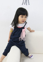 Wholesale 2012 children cute girl Bow overalls wedding_8