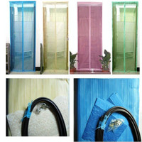Wholesale Fly Screen Door Magnetic Stripe Mesh Prevent Mosquito Net