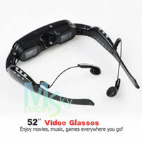 Wholesale 52inch Mobile Theatre Video Glasses Virtual Screen Video Eyewear Video Glasses