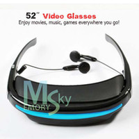Wholesale Video Glasses Movies on Inch Virtual Screen languages