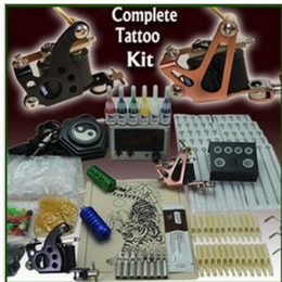 Wholesale Complete Tattoo Kit Machine Guns Ink Power Set HOT KD
