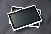 Wholesale DHL freeshiping dual core inch Tablet PC with Capacitive Multi Touch Screen Support external G MB GB