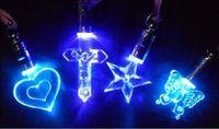 Big Kids big pendant lights - Luminous necklace colorful LED Flash Necklace Pendant Fashion Necklace Pendant Light a magnetic toy