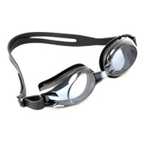 Wholesale Myopia Degree Swimming Goggles Swimming Glasses Anti UV Silicone Black K00809