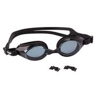 Wholesale Silicone Swimming Goggles Anti UV Glasses Black K00659
