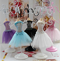 Wholesale Mannequin jewelry frame dispaly short skirt aircraft models holder colors mix