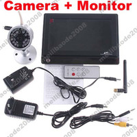 Wholesale 1pcs H56 IR Security Camera GHz Wireless quot TFT LCD Monitor