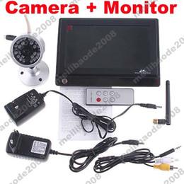 Камера 1шт H56 ИК безопасности + 2.4GHz беспроводной 7quot; TFT ЖК-монитор