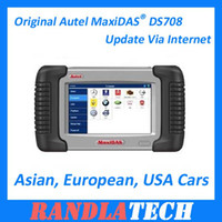 Wholesale 2012 Hot Sale Original Autel MaxiDAS DS708 Update Via Internet By DHL