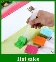 Wholesale Cheap Heat resistance Silicone Brush Colorful Bread Bbq And Bking Grill DIY Brushes