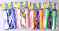 Wholesale Colorful Counting Sporting Skipping Jump Rope Exercise Workout GYM Speed plastic