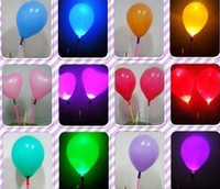 Wholesale 50pcs festival Deco LED Flashing Balloon Lights Party amp wedding decorations balloon toys