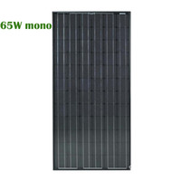 65W Hot Selling!Monocrystal Silicon Solar Panel(119*54*3. 5cm...