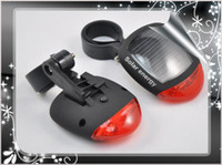 LED bicycle tail light solar - To Make Riding More Safe New Solar Power LED Bicycle Rear Light
