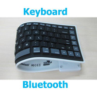 wireless silicone keyboard - Promotion Bluetooth Wireless Washable Flexible Silicone Roll up Keyboard