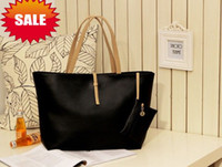 Wholesale NEW Korean Fashion Style Lady Women PU Leather Messenger Handbag Shoulder Bag With Wallet Bag