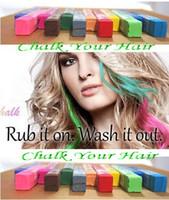 Wholesale New Arrival Hair Color Chalk Temporary Hair Color Chalk Bug Rub Soft Fencai Bar Chalk Colors