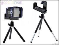 apple tripod - Rotatable mini Tripod Holder Stand for G i9100 Mobile Phones Mini bracket phone tripod