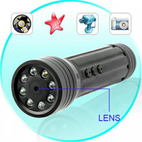 Wholesale Spy Camera DVR in LED Flashlight