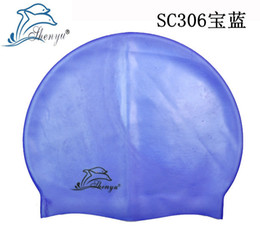 Wholesale 84pcs swimming caps silicone swimming hat swimming hat adult children men and women all can wear YM4